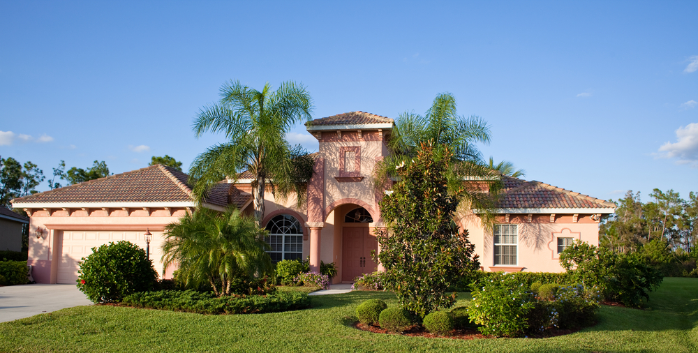 Floridian House w Impact Windows