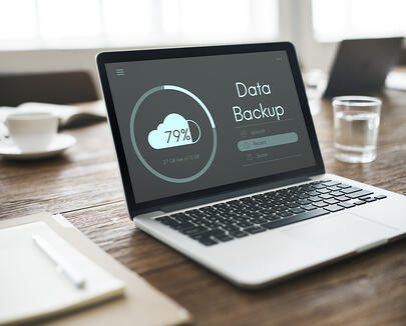 Data Backup on a laptop