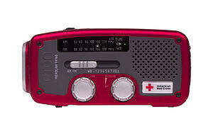 Red Cross Crank Radio