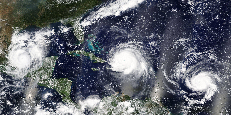 Hurricane in Miami