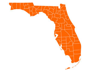 Flordia Regions Map