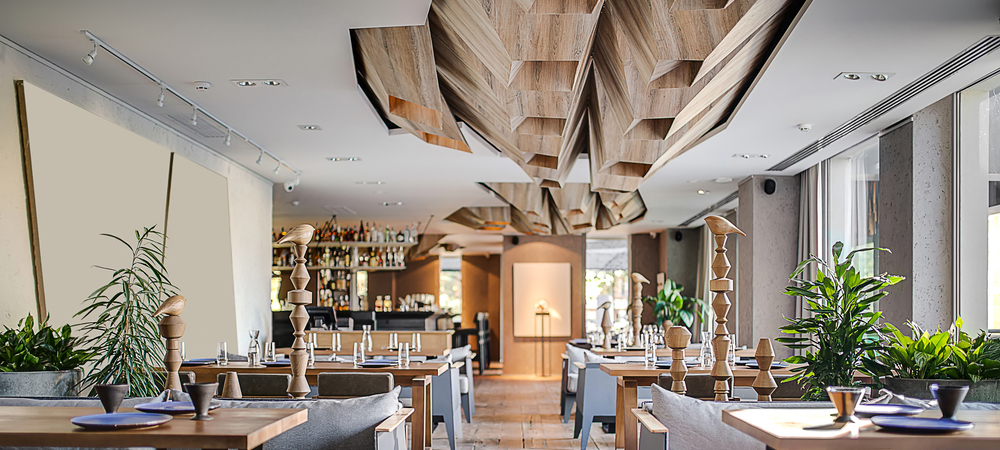 modern restaurant layout