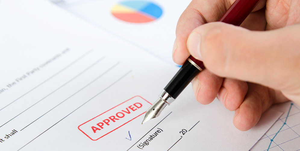 Signing a Permit Application