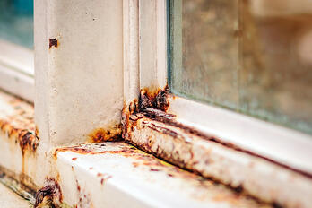 Window Frame Rust