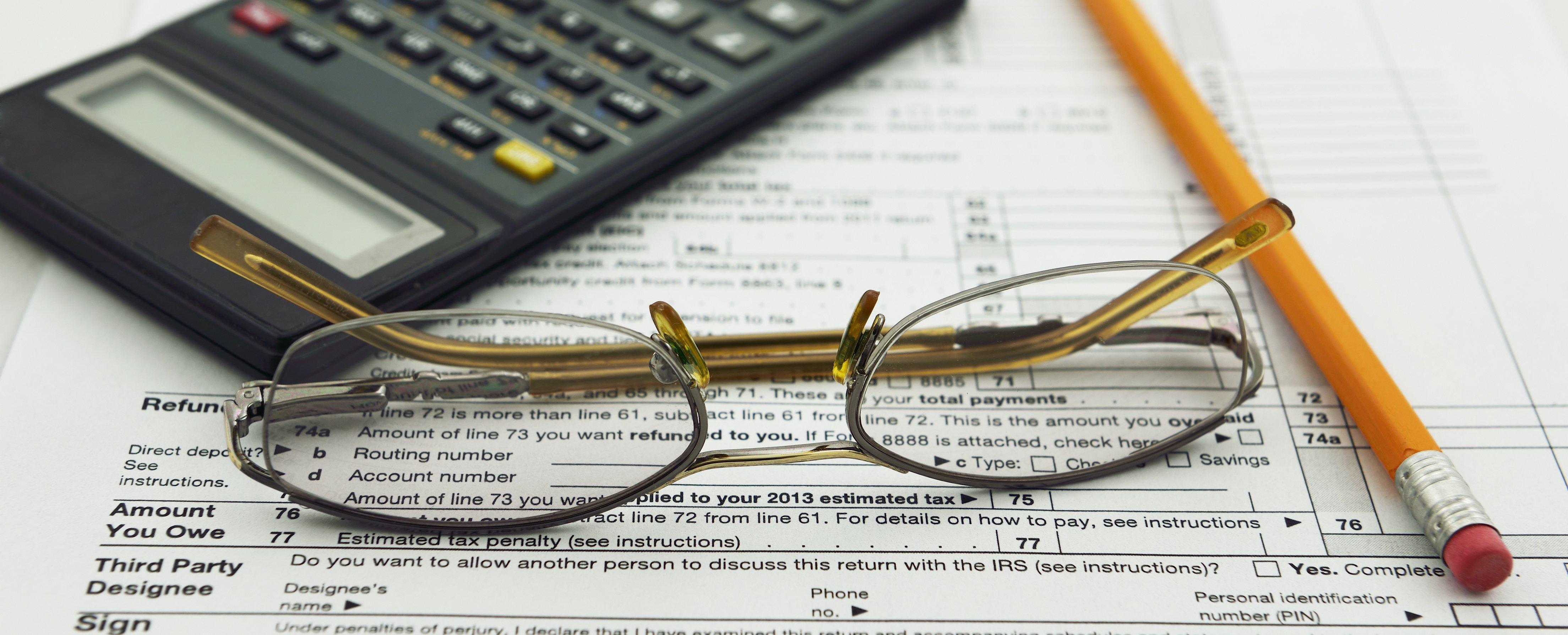 tax break paperwork