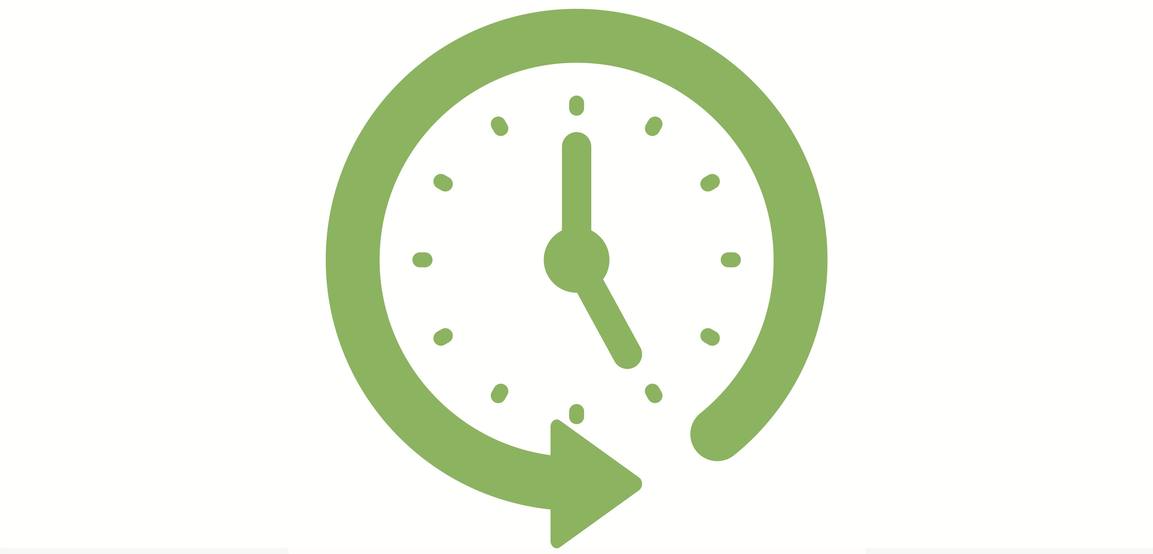 Clock in Motion